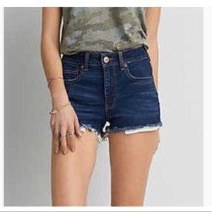 American Eagle Outfitters high rise jean Shorts